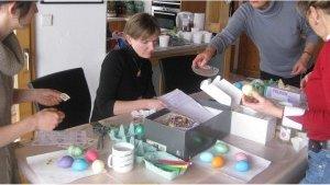Atelier oeufs de Pâques